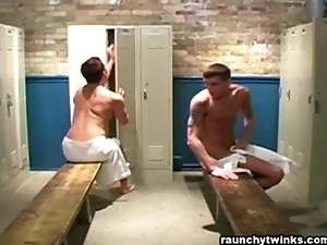 Hot locker fuck
