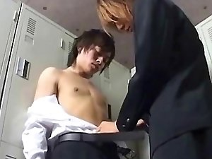 Horny Japanese gay boys delight