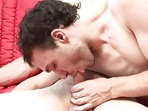 Facial Cumshot After A Hardcore Gay Sex
