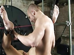 BDSM Slave gay boy bound fucked schwule jungs