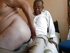 Old man fucking the fat