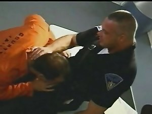 Prisoner Locked up by horny Cop