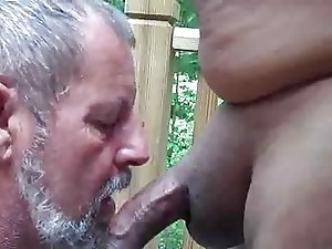 Daddy and Latino (Cum Eating)