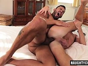 Russian gay anal playing - sex toys in action