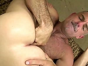 Daddy have fun with horny son